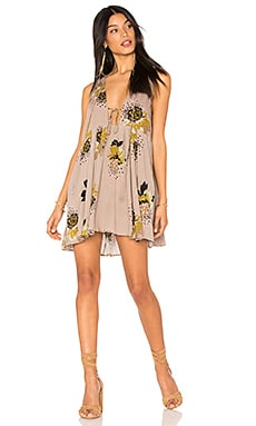 Lovely Day Printed Tunic in Taupe