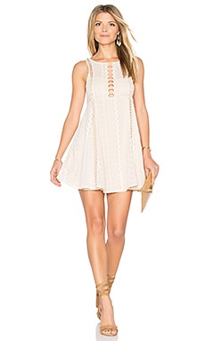 Wherever You Go Mini Dress in Ivory