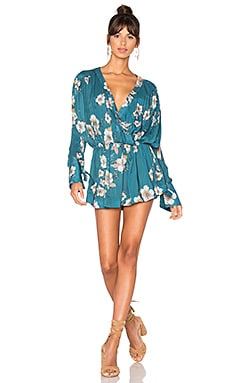 Tuscan Dreams Printed Tunic in Turquoise
