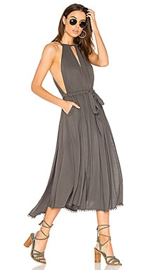 Spring Love Midi Dress in Carbon