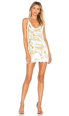 Seeing Double Sequin Slip Dress Free People $69