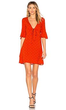 Купить Мини платье all yours - Free People, Короткий рукав, Китай, Красный
