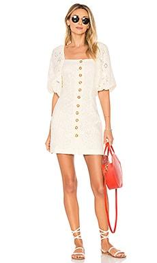 Купить Мини платье daniella - Free People, Богемный стиль, Индия, Кремовый