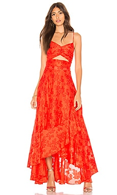 Buona Sera Maxi Dress Free People $300