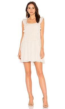 Купить Платье priscilla - Free People, Мини, Индия, Белый