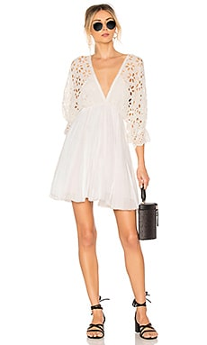 Купить Платье bella note - Free People, Мини, Индия, Ivory
