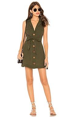 Купить Платье hepburn - Free People, Мини, Индия, Темно-зеленый