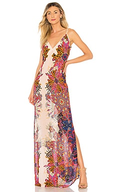 Wildflower Printed Slip Dress Free People $77