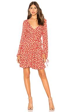 Купить Мини платье pradera - Free People, Индия, Красный
