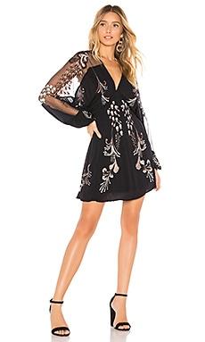 Bonjour Embroidered Mini Dress Free People $168