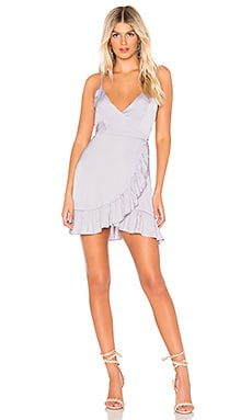 All My Love Shine Wrap Dress Free People $68
