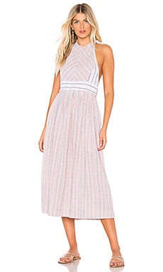 ROBE MI-LONGUE COLOR THEORY Free People $77