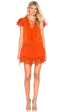 Esperanza Eyelet Mini Dress Free People $148