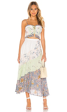 КОМПЛЕКТ IN THE FLOWERS Free People $198 ЛИДЕР ПРОДАЖ