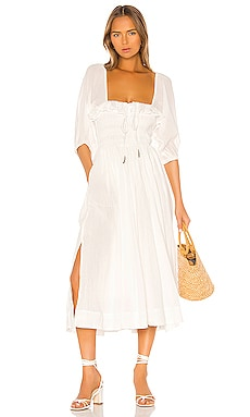 ROBE MI-LONGUE OASIS Free People $118 BEST SELLER
