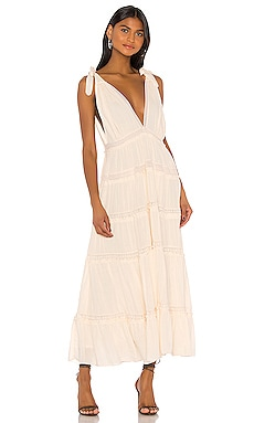 ROBE MI-LONGUE LILY OF THE VALLEY Free People $168