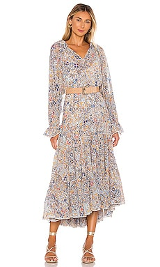 Feeling Groovy Maxi Dress Free People $168 BEST SELLER