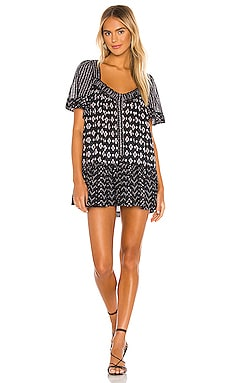 Hearts Desire Printed Mini Dress Free People $128