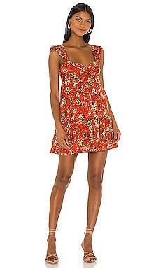 Pattern Play Mini Dress Free People $128