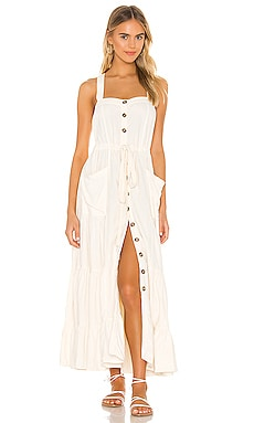 VESTIDO MIDI CATCH THE BREEZE Free People $168 MÁS VENDIDO