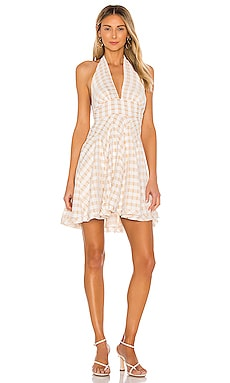 МИНИ ПЛАТЬЕ DO THE TWIST Free People $128