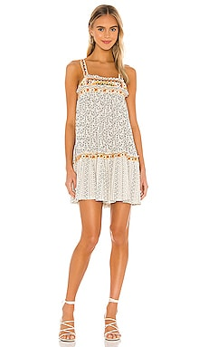 MINIVESTIDO BOARDERLINE Free People $128 MÁS VENDIDO