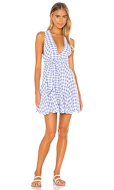 Do The Twist Mini Dress Free People $90