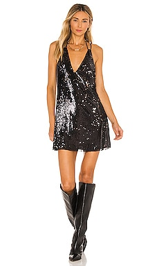 Double Take Sequin Mini Dress Free People $84