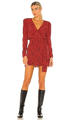 Kinsley Wrap Dress Free People $128 BEST SELLER