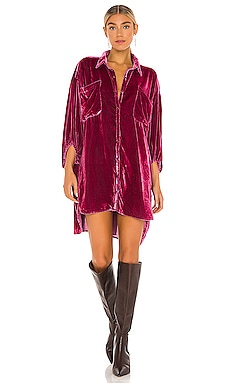 ROBE CHEMISE LUX Free People $198 BEST SELLER