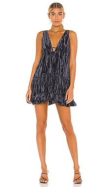 Pleated Plush Swing Dress Free People $79