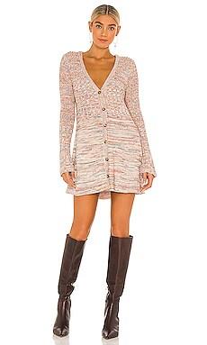 Rachel Cardigan Sweater Dress Free People $148 NEW