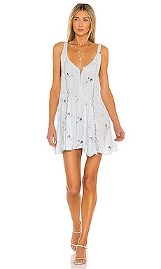 Give A Little Mini Slip Dress Free People $88