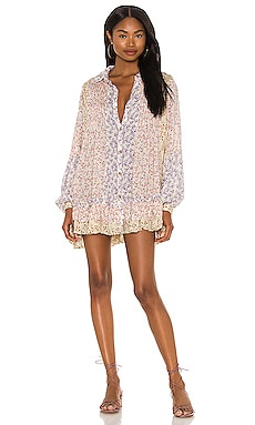 Lost In You Printed Tunic Free People $128 NEW