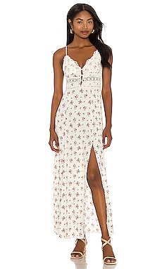 Out And About Maxi Slip Dress Free People $128