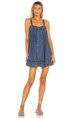 Wild One Denim Mini Dress Free People $76
