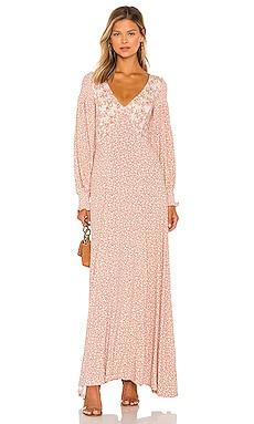 Love Story Maxi Dress Free People $198 NEW