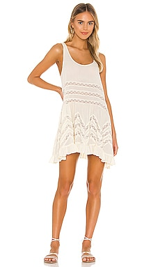Voile and Lace Trapeze Slip Free People $88