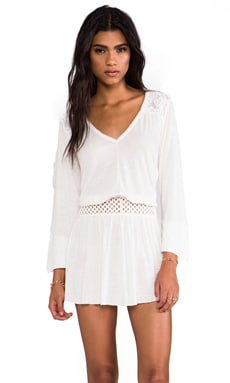 Moonlight Romantic Tunic in Ivory