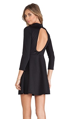 Free People Flirt n Flare Dress in Black