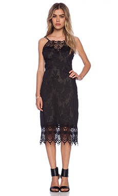 Free People Take Me Out Dress in Black