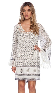 Free People Nomad Child Dress in Ivory Combo