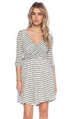 Free People Maverick Dress in Cream Combo