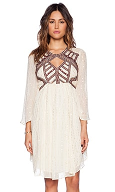 Free People All You Need Dress in Antique