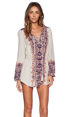 Free People Wildest Moments Tunic in Tea Combo