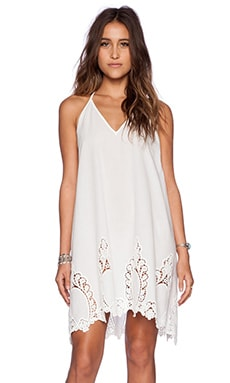 Free People Easy Livin Slip in Alabaster