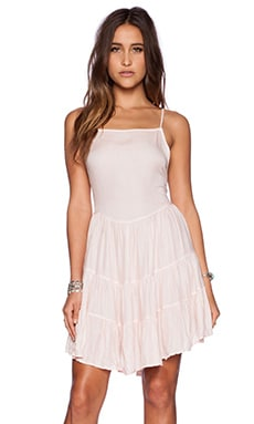 Free People Circle of Flowers Slip Dress in Ballet