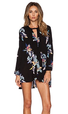Free People Tree Swing Tunic in Night Combo