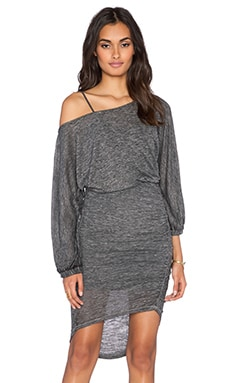 Free People Tidepool Mini Dress in Black