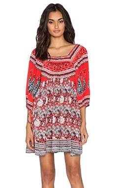 Free People Midsummers Dream Dress in Poppy Combo